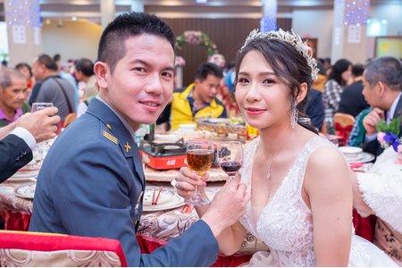 💝 屏東長治自宅訂婚儀式 💝 佳美宴會廳午宴