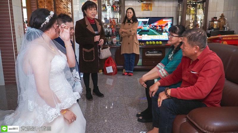 💝 迎娶儀式單人雙機平面攝影&動態錄影作品