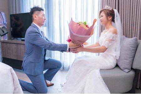 💝 高雄鳳山到金獅湖酒店迎娶儀式 💝 巨蛋文尚會館午宴