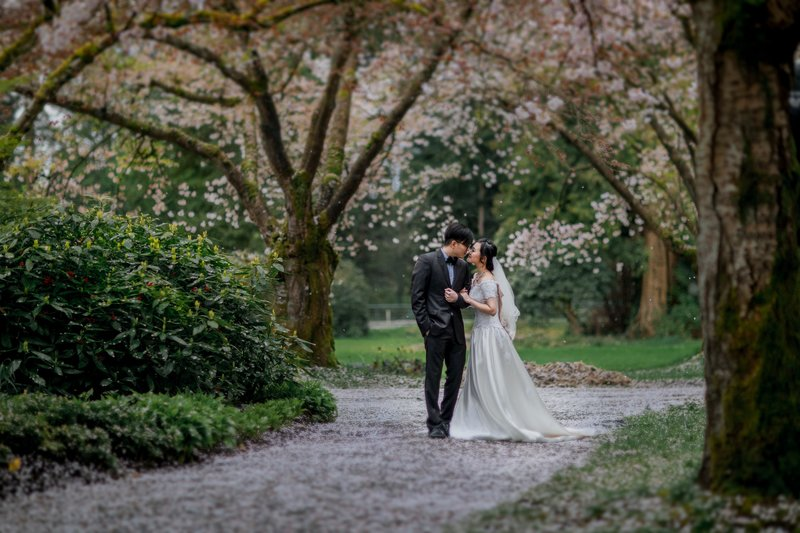 海外婚紗包套:加拿大拍婚紗-溫哥華婚紗照
