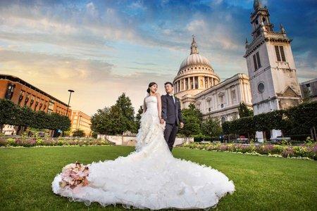 海外婚紗包套推薦:英國拍婚紗-倫敦婚紗照