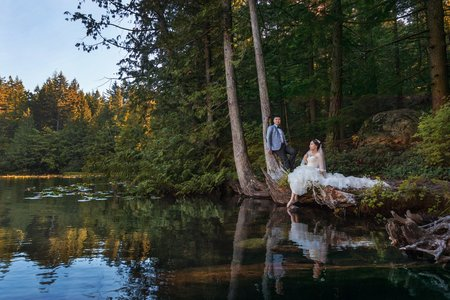 海外婚紗包套推薦:加拿大拍婚紗-溫哥華婚紗照