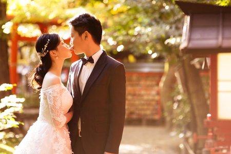 【京都拍婚紗】海外婚紗包套:京都婚紗攝影