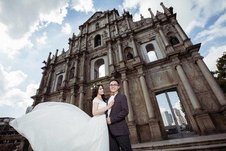 【澳門拍婚紗】海外婚紗包套:澳門婚紗攝影