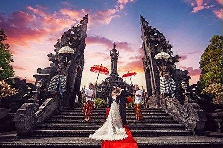 海外婚紗包套: 巴里島拍婚紗-巴里島婚紗
