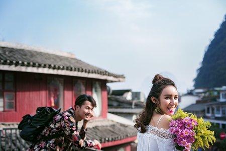 旅拍婚紗照-麗江古鎮婚紗照