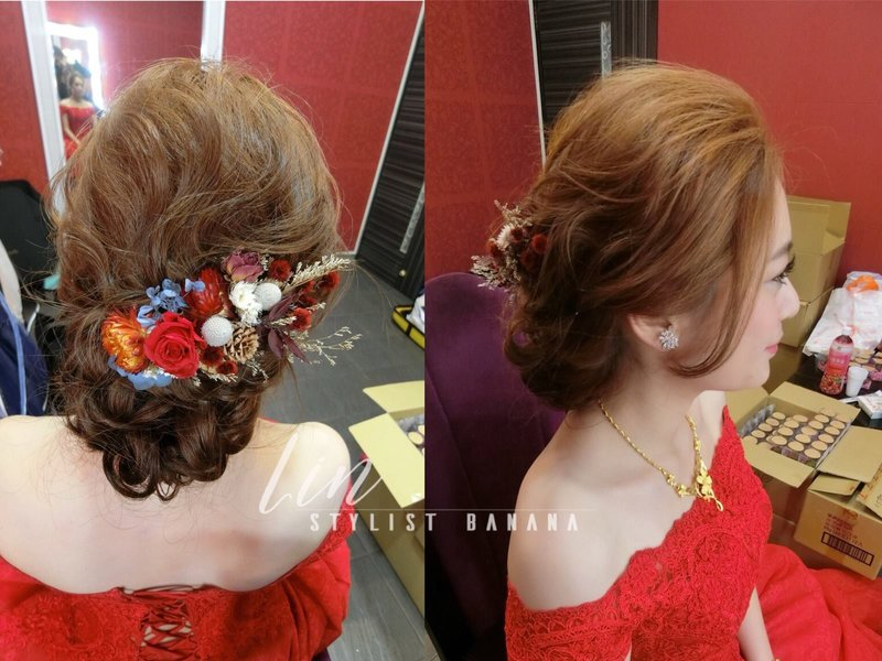 文定儀式單妝髮作品