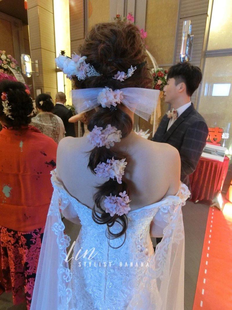 訂婚+結婚四造型 午宴/晚宴作品