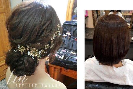 短髮造型變化