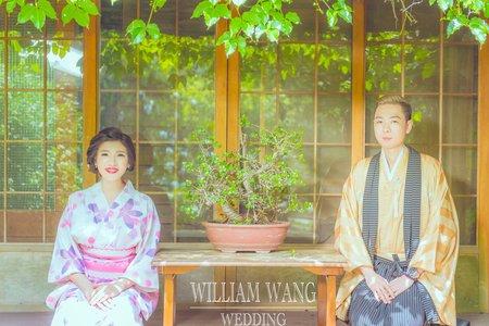 威廉王經典婚禮│日式婚紗