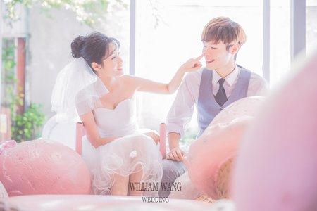 威廉王經典婚禮|韓風簡約情侶照
