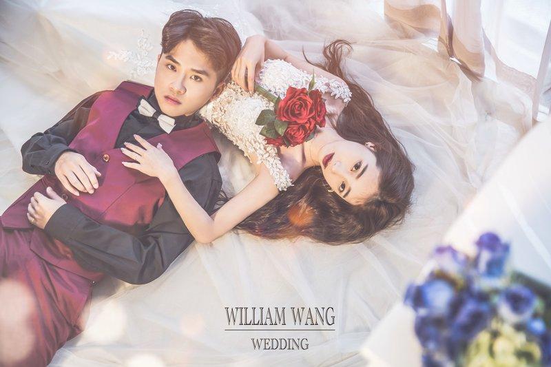 威廉王|韓式清新情侶照作品