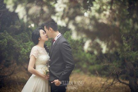 威廉王經典婚禮│韓式輕婚紗