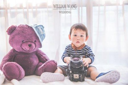 威廉王經典婚禮│寶寶照
