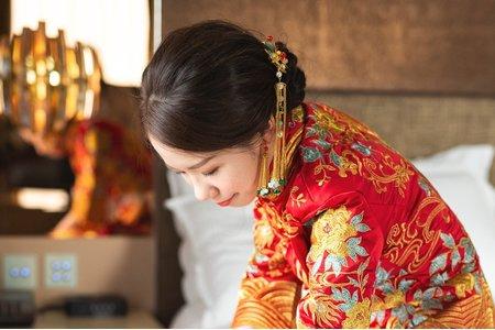 中式禮服造型