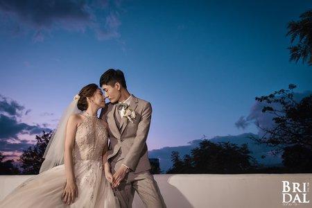 勁達 & 巧憶 | 證婚+晚宴 | 台北天使分享咖啡廳