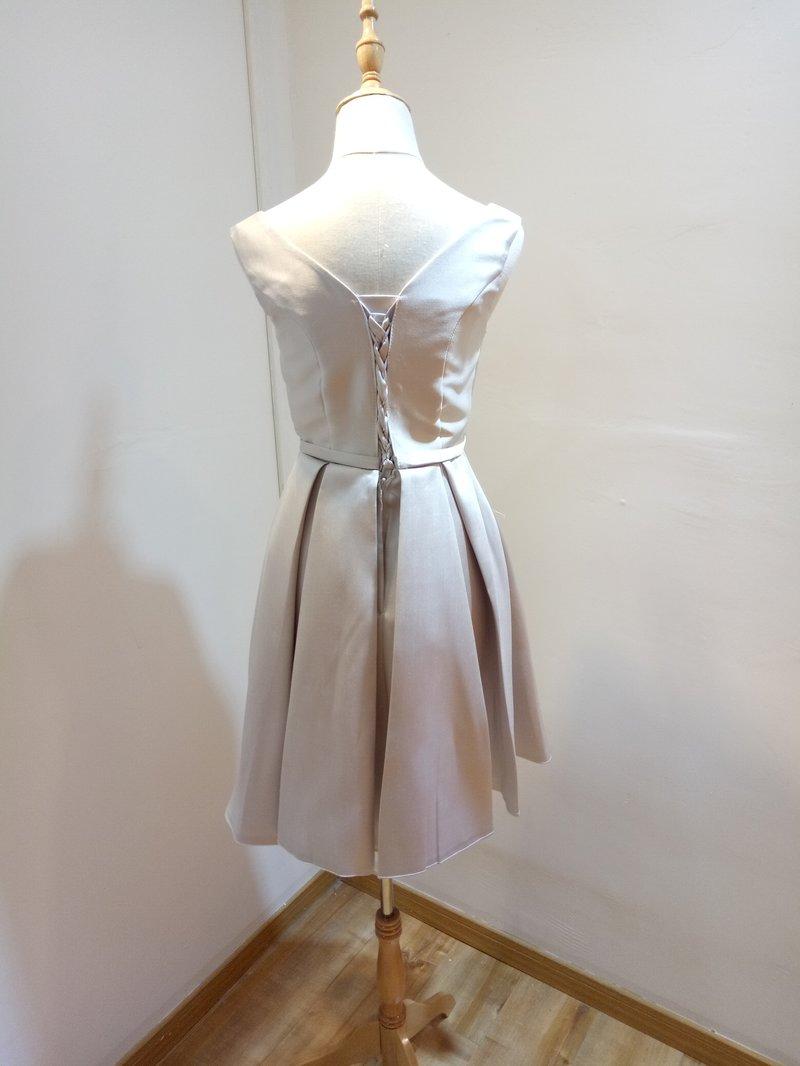 天使伴娘小禮服-伴娘服訂製|買伴娘服