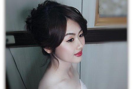 桃園新娘造型
