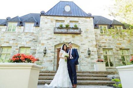 海外婚禮 | 加拿大莊園婚禮 | 婚攝森森