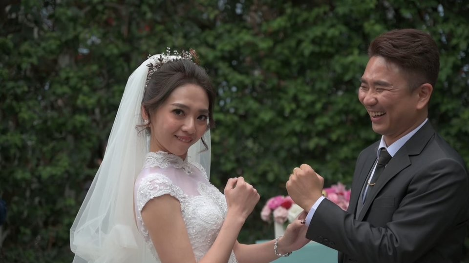 愛蒂莃亞影像,感謝小宸老師為我和妍希婚禮完美記錄!