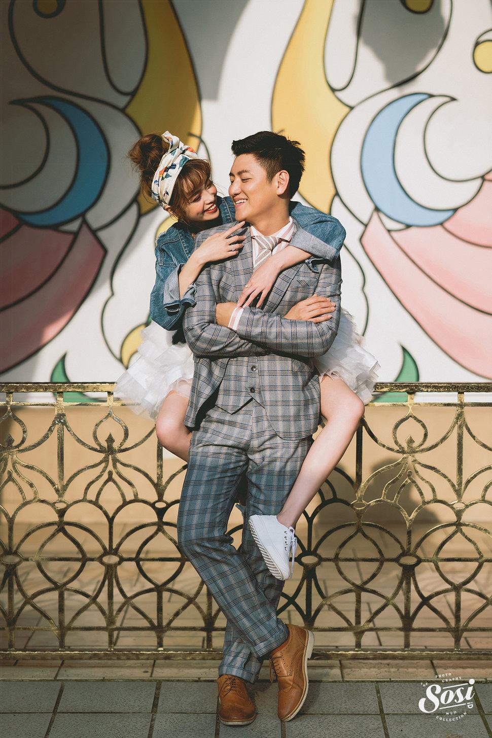 吳洛儀婚紗 - sosi喜喜婚禮《結婚吧》