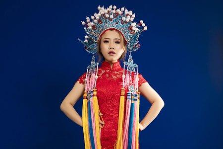 中式鳳冠新娘造型