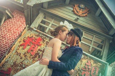彩虹婚紗紀錄