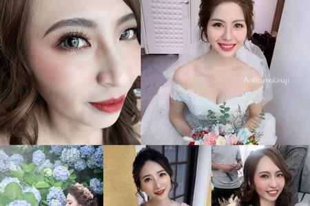 Anika結婚x白紗造型