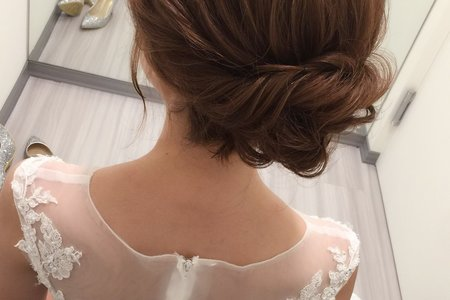 韓系低盤髮