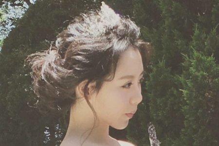 歐風盤髮,仙女風