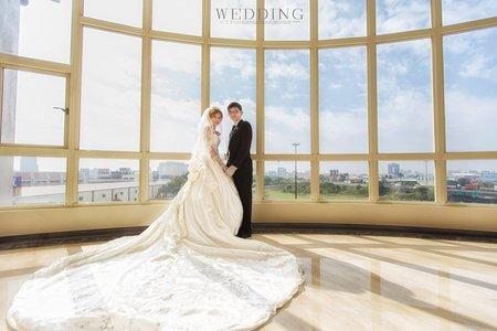 婚禮紀錄WEDDING | 台南- 情定婚宴城堡永康館 | 幸運草攝影工坊
