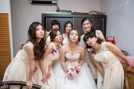 婚禮紀錄WEDDING | 彰化-得億仕婚宴會館 | 幸運草攝影工坊