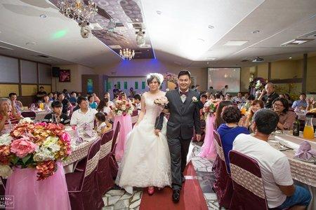 婚禮紀錄WEDDING |台南-金冠台菜海鮮婚宴餐廳 | 幸運草攝影工坊