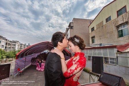 婚禮紀錄WEDDING |台南-自宅 | 幸運草攝影工坊