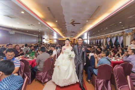 婚禮紀錄WEDDING |台南-大統喜宴餐廳 | 幸運草攝影工坊