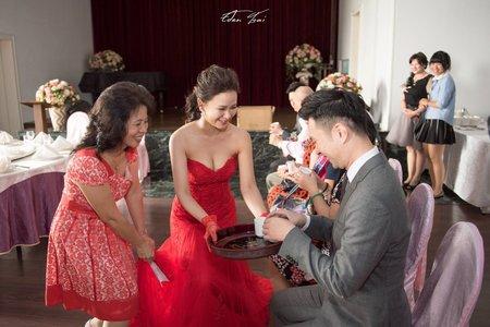 婚禮紀錄WEDDING | 台南阿勇師餐廳 | 幸運草攝影工坊