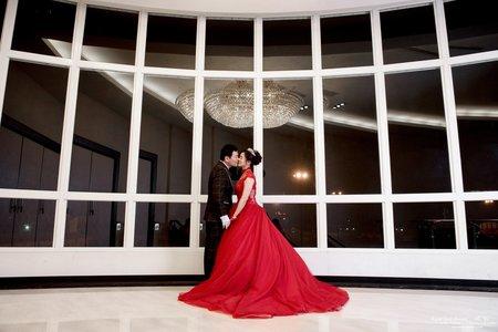 婚禮紀錄WEDDING | 台南-永康情定婚宴城堡 | 幸運草攝影工坊