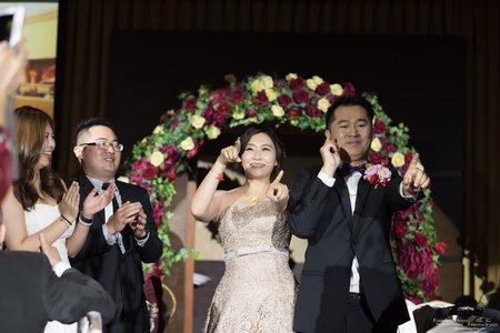婚禮紀錄WEDDING | 台中-全國大飯店 | 幸運草攝影工坊