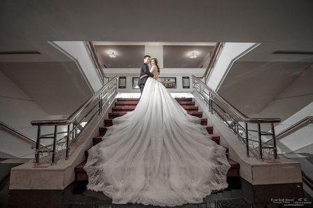 婚禮紀錄WEDDING | 高雄-85大樓君鴻國際酒店 | 幸運草攝影工坊