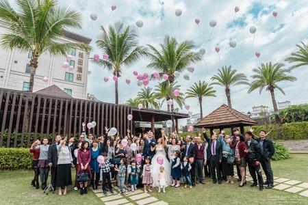 婚禮紀錄WEDDING | 台南-桂田酒店 | 幸運草攝影工坊