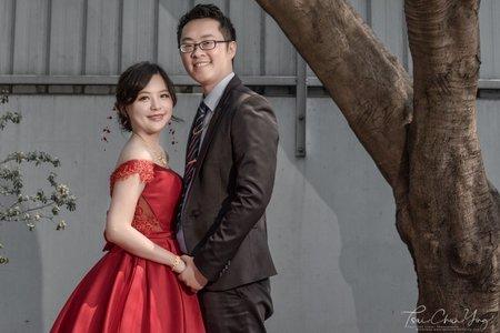 婚禮紀錄WEDDING | 台南-自宅 | 幸運草攝影工坊
