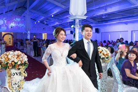婚禮紀錄WEDDING | 台南-善化大成庭園餐廳-玉山廳 | 幸運草攝影工坊