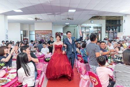 婚禮紀錄WEDDING | 台南-華興振興里活動中心 | 幸運草攝影工坊