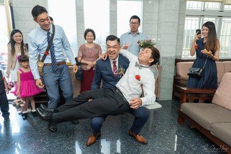 婚禮紀錄WEDDING | 高雄-金獅湖保安宮 | 幸運草攝影工坊