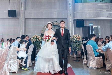 婚禮紀錄WEDDING | 台南-富霖海鮮餐廳華平館-富賞聽 | 幸運草攝影工坊