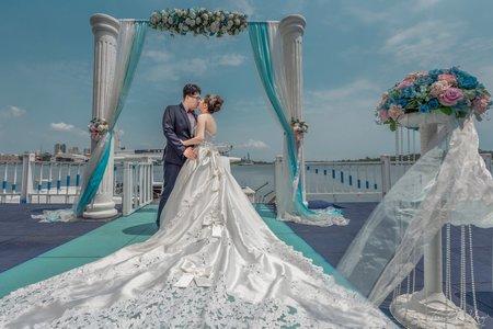 婚禮紀錄WEDDING | 台南-玄饌宴會館 唯一海景宴會館 | 幸運草攝影工坊