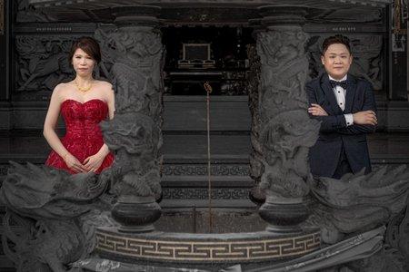 婚禮紀錄WEDDING | 台南-土城清安宮 | 幸運草攝影工坊