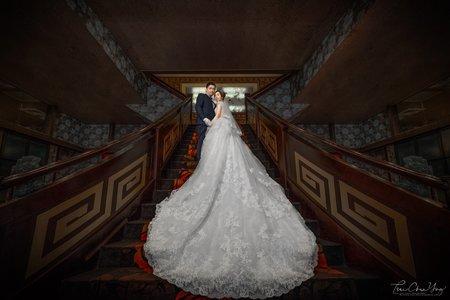 婚禮紀錄WEDDING | 台南-台南-濃園滿漢餐廳 | 幸運草攝影工坊