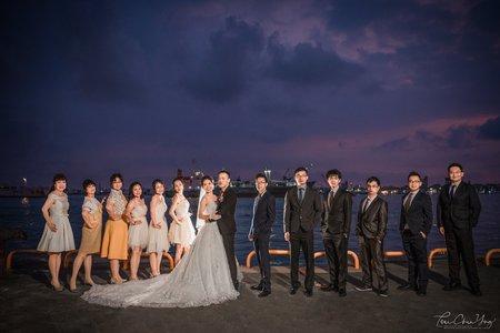 婚禮紀錄WEDDING |  高雄-高雄香蕉碼頭河邊餐廳-當代廳  | 幸運草攝影工坊