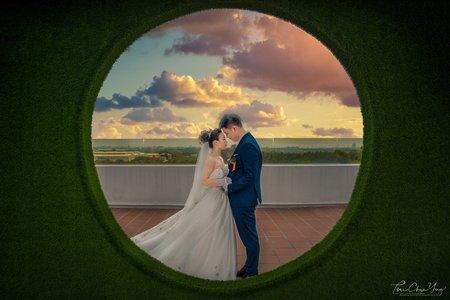婚禮紀錄WEDDING | 台南-徠·歸仁飯店  | 幸運草攝影工坊